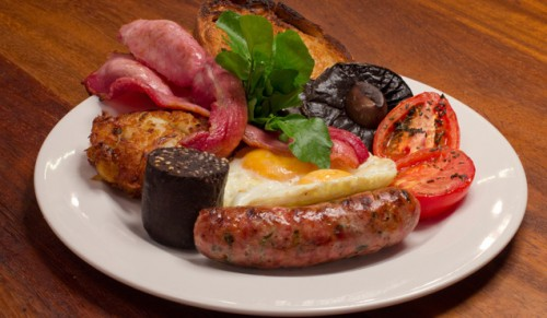 One Holyrood, Newport – Delicious Freshly-Cooked Breakfast – normally £8.95 deal price £5.00
