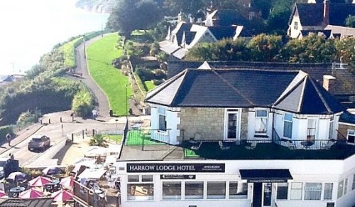 Harrow Lodge, Shanklin – One, Two or Three-Night Coastal Getaway for Two including Breakfast and Three-Course Dinner – normally up to £390.00 deal price from £85.00