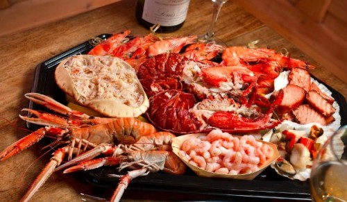 Murrays Seafood Restaurant, Cowes – Delicious Seafood Sharing Platter for Two – normally £74.00 deal price £41.00