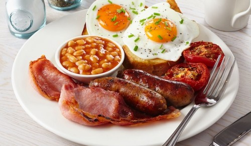 Harrow Lodge, Shanklin – Freshly-Cooked Regular or Jumbo Full English Breakfast – normally up to £6.00 deal price from £3.25