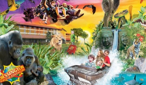 Chessington World of Adventures Resort – Day Trip direct from the Island including Coach Travel, Ferry Crossings and Entrance – deal price £53.00