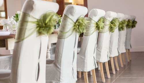 Inspired Island Events, Ryde – Beautiful Chair Covers with Bespoke Organza Sash – normally £1.50 deal price 85p