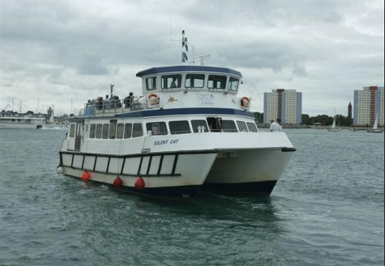 Solent and Wightline Cruises, Cowes – Winter and Spring Special Return Boat Trip Tickets – normally up to £7.00 deal price from £3.00