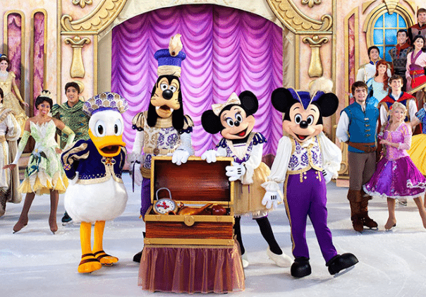 Disney On Ice Dream Big Day Trip including Coach Travel, Ferries and Admission – deal price £63.00 deposit just £10.00