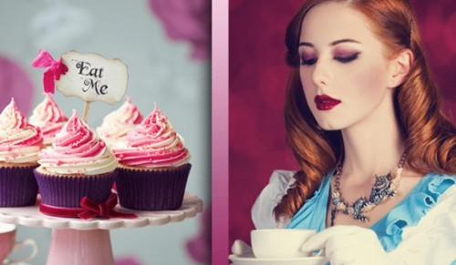 The Essex, Godshill – Alice In Wonderland Themed Afternoon Tea for Two or Three with or without Teapot Cocktails – normally up to £67.50 deal price from £22.50