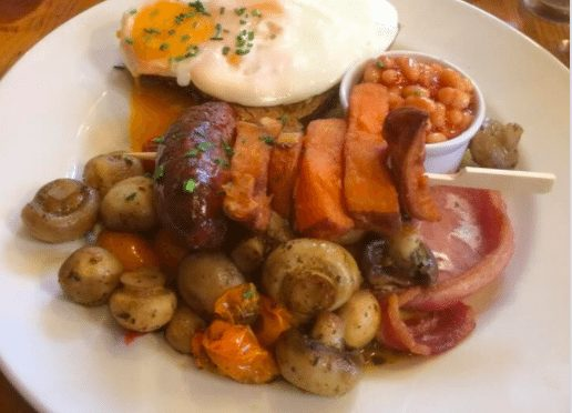 The Garlic Farm, Newchurch – Choice of Fabulous Freshly-Made Breakfasts – normally up to £8.95 deal price £5.95