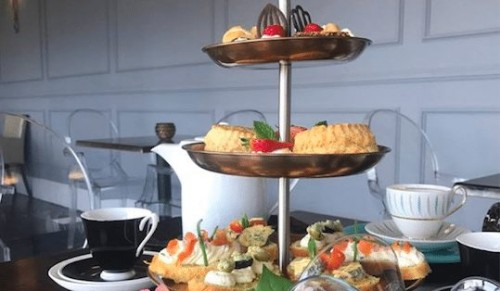 The Balcony Bar, Ventnor – Vogue Afternoon Tea with or without Cocktails for Two or Three – normally up to £67.50 deal price from £22.50