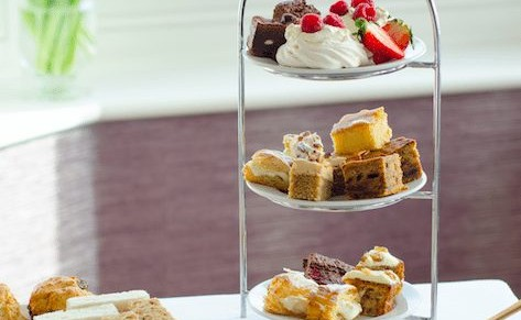The Hambrough, Ventnor – Indulgent Afternoon Tea for Two with or without Fizz – normally up to £60.00 deal price from £33.00