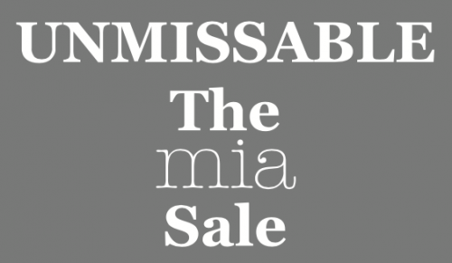 Unmissable The Mia Sale – Promotional Feature