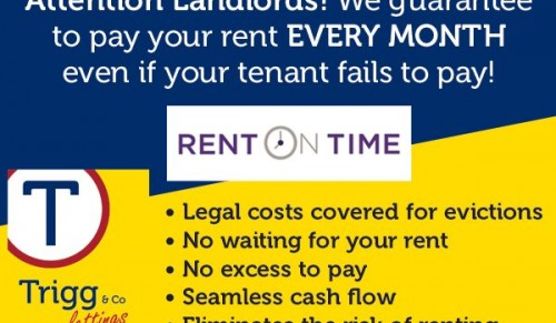 Get Your Rent On Time @ Trigg & Co Lettings – Promotional Feature