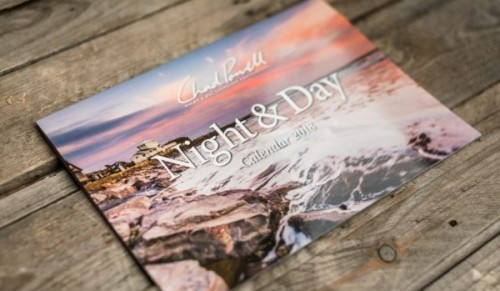 Chad Photography – Chad Powell 2018 Night & Day Calendar including FREE Delivery – normally £10.00 deal price £7.49