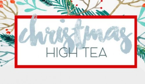 Cakes and Bakes by Chrissy, Ryde – Deluxe Christmas High Tea for Two or Three People – normally up to £37.50 deal price from £16.95