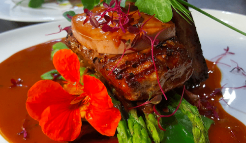 The Bistro, Ventnor – Tempting Two-Course Lunch or Earlybird Two-Course Evening Dinner for Two – normally up to £52.00 deal price £35.40
