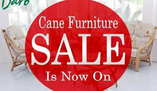 Mega Sale for Daro Cane Furniture has now started @ Medina Garden Centre, Wootton Bridge – Promotional Feature