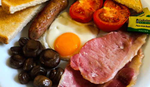 God's Providence House, Newport – Full English Breakfast for One with Tea or Coffee – normally up to £9.20 deal price £4.95