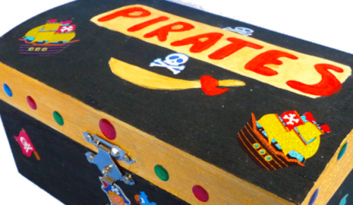 Arty Shakes, Shanklin – Paint a Wooden Jewellery Box or Wooden Treasure Box with choice of Dessert – normally £21.50 deal price £8.99