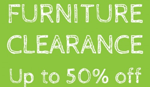 Furniture Clearance up to 50% off @ Readers – Promotional Feature