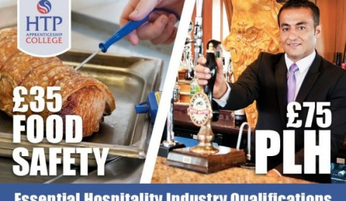 Would you like to save on essential Hospitality Industry Qualifications? @ HTP Apprenticeship College, Newport – Promotional Feature