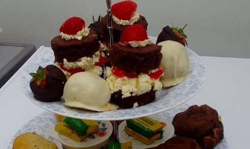 Cakes and Bakes by Chrissy, Ryde – Deluxe Afternoon Tea for Two or Three – normally up to £37.50 deal price from £16.95