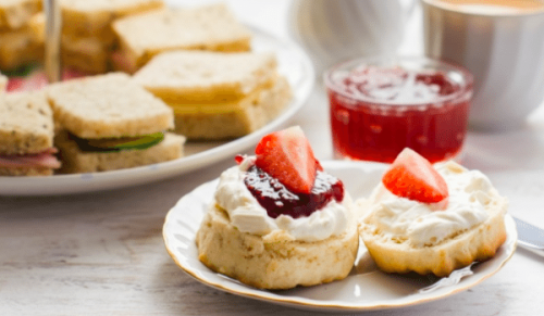 One Holyrood, Newport – Choice of Homemade Afternoon Tea for Two with or without Prosecco – normally up to £42.00 deal price from £22.75