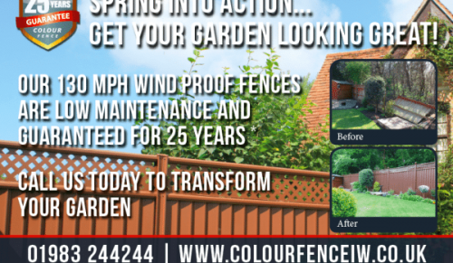 The Ultimate Garden Fence @ Colour Fence – Promotional Feature