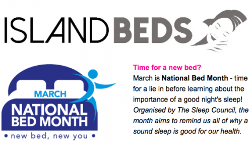 Time for a new Bed? Visit Island Beds, Newport – Promotional Feature