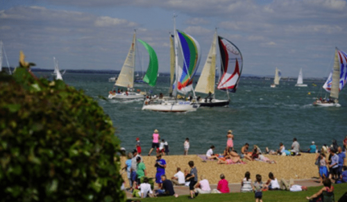Dobson Enterprises, Cowes – Paint the View from The Island Sailing Club including Lunch and Refreshments – normally £95.00 deal price £75.00