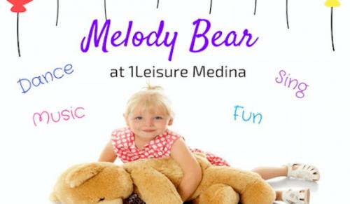 Melody Bear Pre-School Dance Class @ 1Leisure Medina – Promotional Feature