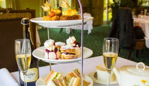 Albert Cottage Hotel, East Cowes – Tipsy Afternoon Tea for Two with Choice of Pimms, Gin and Tonic or Prosecco – normally up to £53.50 deal price £29.95