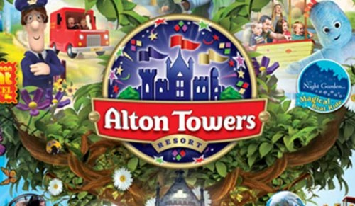 Alton Towers Day Trip including Return Coach, Ferry Crossings and Admission – Adult deal price £68.00