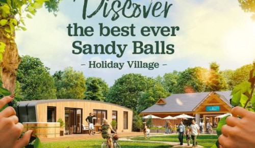 Sandy Balls Holiday Village, New Forest – Four-Night Comfort Caravan or Camping Pod Break for up to Four People with Discounted Return Ferry option – normally up to £299.00 deal price from £129.00
