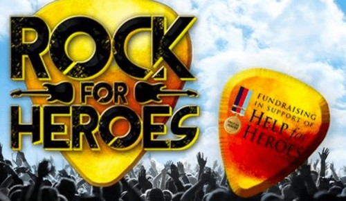 Medina Theatre, Newport – Half-Price Tickets to Rock For Heroes – normally £19.50 deal price £9.75