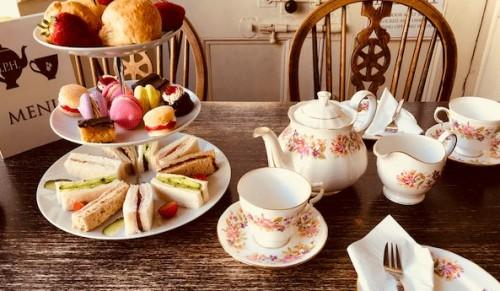 God's Providence House, Newport – Delicious The Price Is Wight Afternoon Tea for Two – normally up to £23.95 deal price £16.95