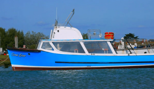 Coral Star, Yarmouth – Hurst Castle &; Yarmouth Sightseeing Boat Trip for Adults and Kids from Lymington – normally up to £15.00 deal price from £5.00