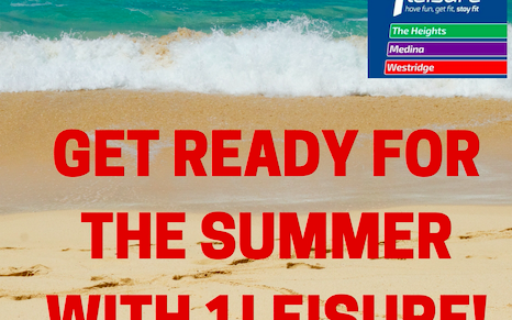 Summer is fast approaching at 1Leisure – Promotional Feature
