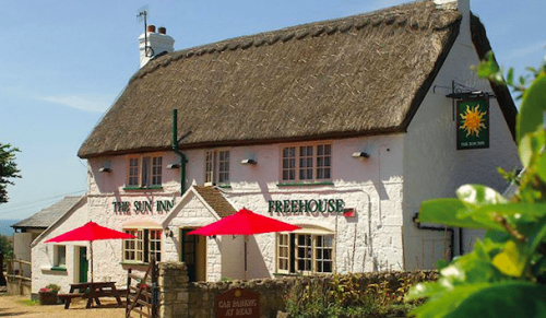 The Sun Inn, Hulverstone – Choice of Two or Three-Course Evening Dinner for One – normally up to £26.00 deal price from £12.00