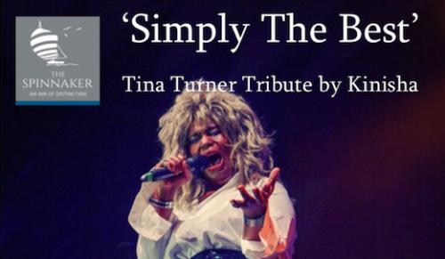 Tina Turner Tribute Night at The Spinnaker, Bembridge – Promotional Feature
