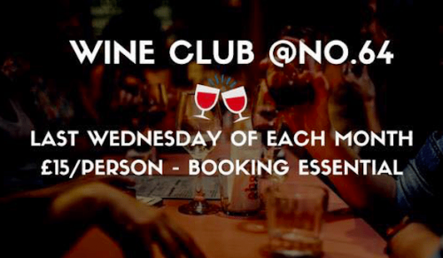 Wine Club at No.64, Shanklin – Promotional Feature