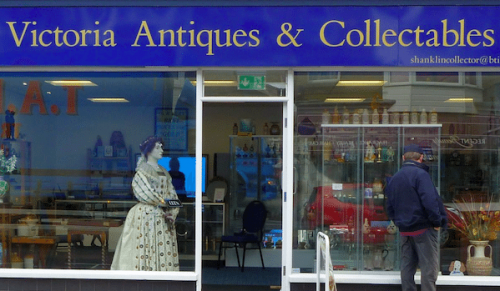 Buying, Selling and Offers at Victoria Antiques, Shanklin – Promotional Feature