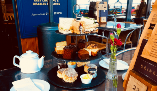 The Buddle Inn, The Yachtsman or The Sun Inn – High Tea for Two with or without Mermaid Gin and Tonic – normally up to £39.95 deal price from £13.95
