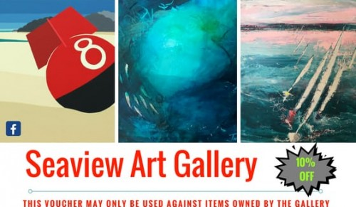 Discover Island Art at Seaview Art Gallery – Promotional Feature