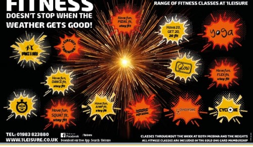 Fitness Classes are hotting up at 1 Leisure – Promotional Feature