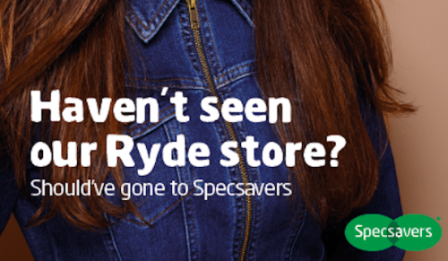 See the new look Specsavers store in Ryde – Promotional Feature
