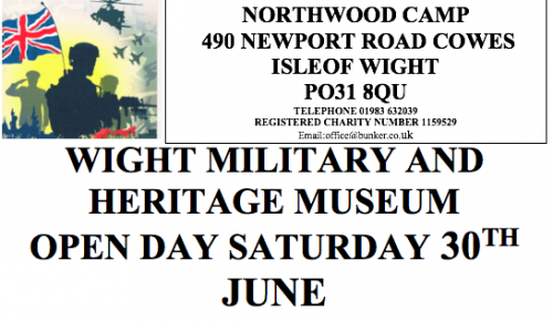 Open Day at Wight Military and Heritage Museum, Northwood – Promotional Feature