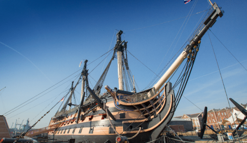 Portsmouth Historic Dockyard, Portsmouth – Eleven Attraction Annual Ticket for Adult – normally up to £39.00 deal price £17.50