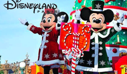 Four-Day Disneyland Paris Enchanted Christmas Trip direct from the Island including Coach Travel, Crossings, Disney Resort Accommodation,  Hopper Pass – deal price £50.00pp deposit payable today