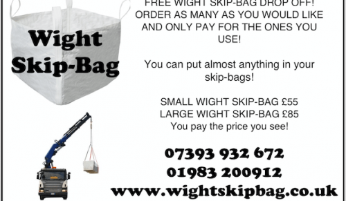 Free Wight Skip-Bag Drop Off at Wight Skip-Bag – Promotional Feature