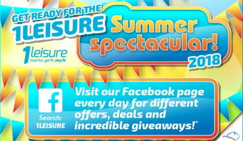Summer Spectacular is back for 2018 at 1Leisure – Promotional Feature