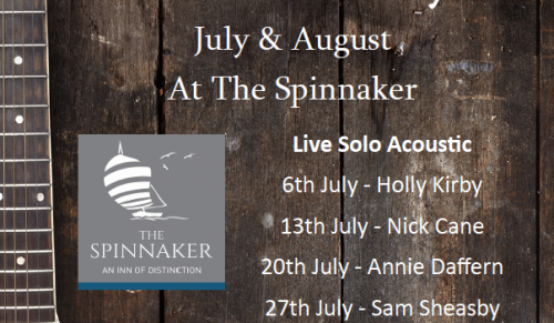 Live Music Friday's at The Spinnaker, Bembridge – Promotional Feature