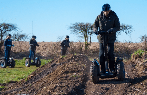 Moor Active, Godshill – Individual or Group Segway Sessions – normally up to £210.00 deal price £25.00
